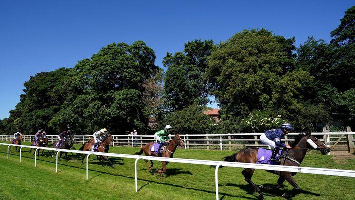 Beverley racecourse will host eight races on Tuesday