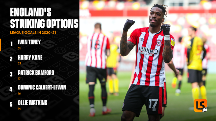 Liverpool will need to keep an eye on Ivan Toney when they travel to Brentford