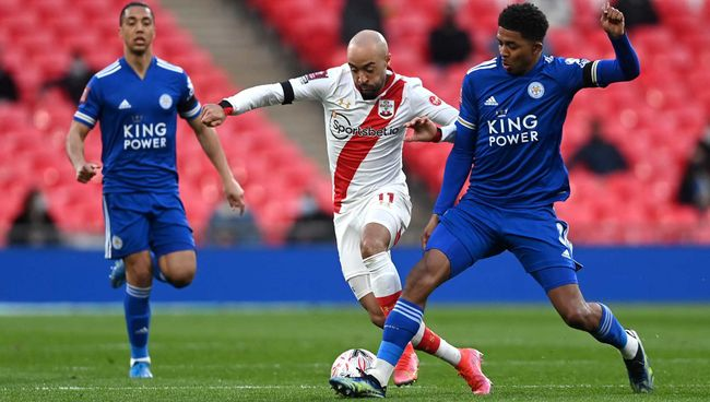 Wesley Fofana (right) has helped Leicester to a place in next month's FA Cup final