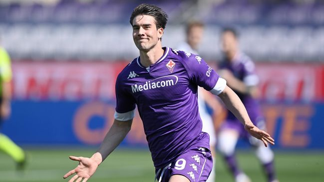 Dusan Vlahovic is believed to be AC Milan's top target this summer