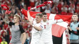 Denmark beat Russia 4-1 to book their place in the round of 16