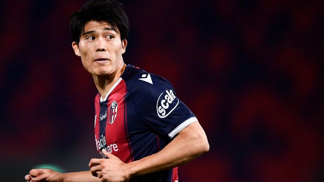 Bologna's Takehiro Tomiyasu has been strongly linked with a switch to Tottenham