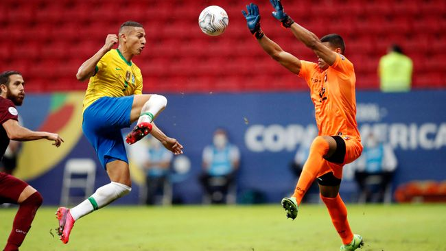 Everton's Richarlison will lead the attack for defending champions Brazil at the Tokyo 2020 Olympic Games