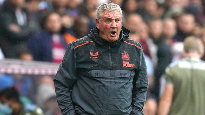 Newcastle boss Steve Bruce was fuming with some of the calls that went against his team