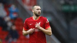 Nat Phillips will likely make his first appearance of the season for Liverpool