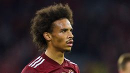 Leroy Sane directly contributed to three of Bayern Munich's four goals against Benfica