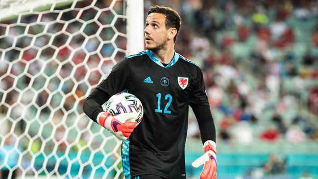Danny Ward is attracting interest from Wolves after impressing for Wales at Euro 2020