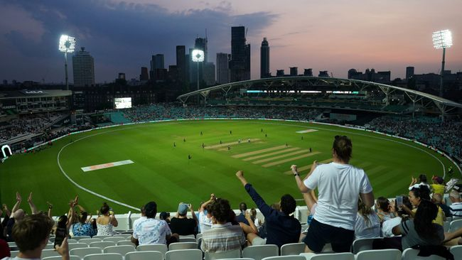 The Hundred swung into life at The Oval last night