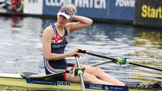 Vicky Thornley, Team GB's medal hope in the women's single sculls which start on July 23
