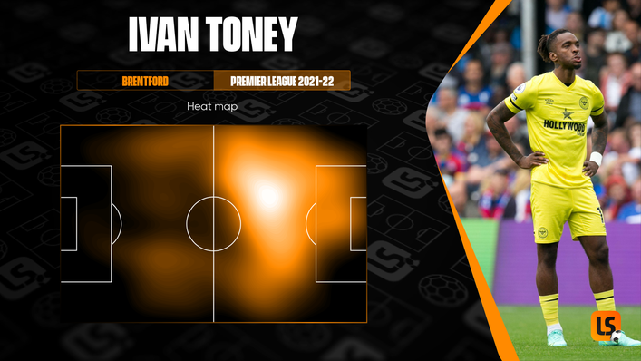 Brentford star Ivan Toney enjoys dropping deep to link play as well as having an impact inside the box