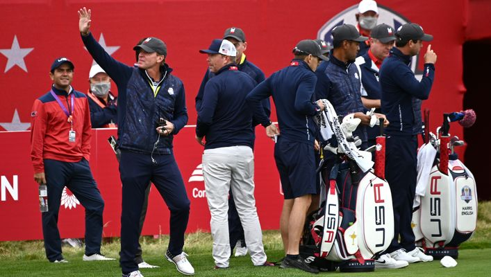 US captain Steve Stricker will hope to find the right formula for the home team