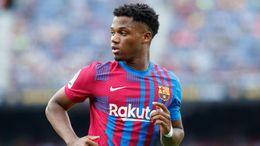 The return of Ansu Fati should result in an uplift in form for struggling Barcelona