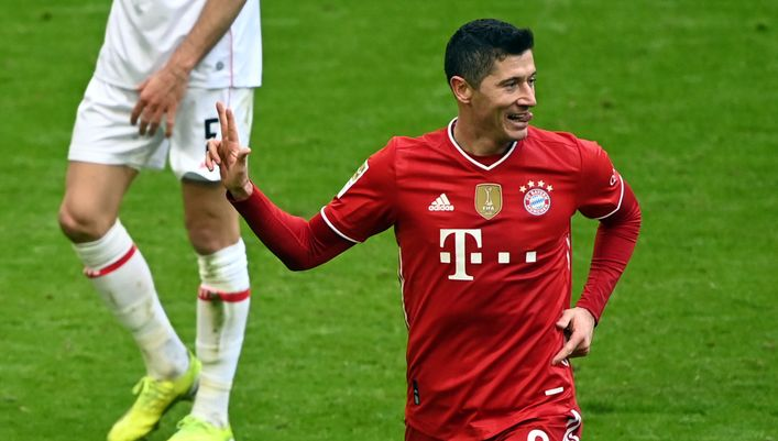 Bayern Munich may welcome Robert Lewandowski back from injury as they look to secure a ninth title