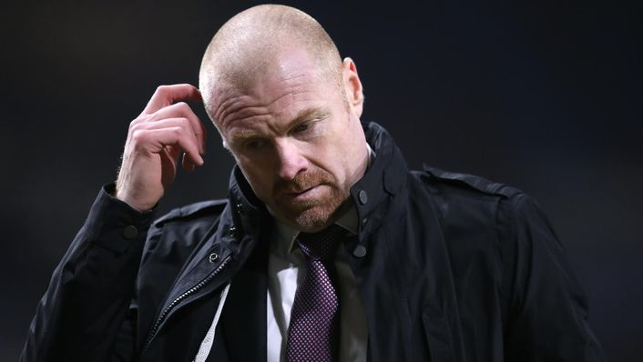 It has been a frustrating period for Sean Dyche and Burnley in recent weeks