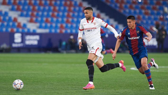 Youssef En-Nesyri's Sevilla side are still in the title race