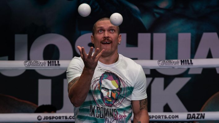 Oleksandr Usyk's skills extend beyond boxing