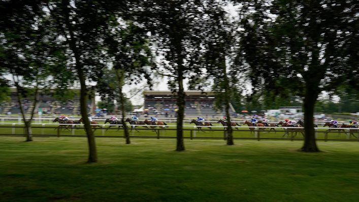 Newmarket racecourse is ready for day two of the Cambridgeshire Meeting