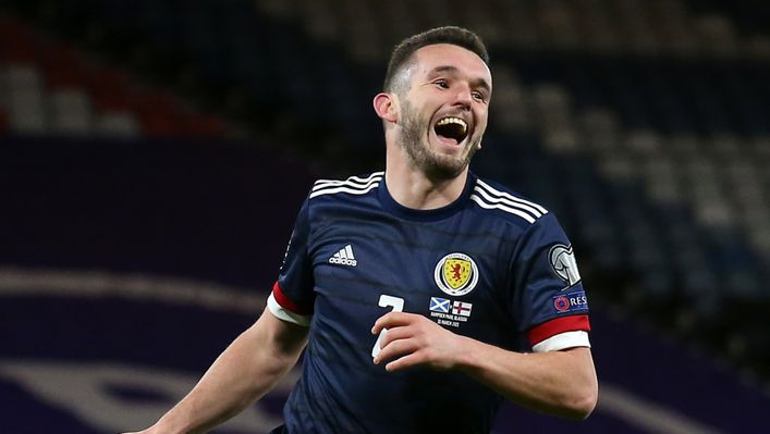 John McGinn is on Liverpool's wanted list this summer