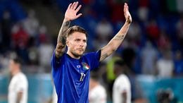 Lazio star Ciro Immobile will be looking to fire Italy into the quarter-finals