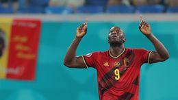 Romelu Lukaku has netted three goals in three games for Belgium