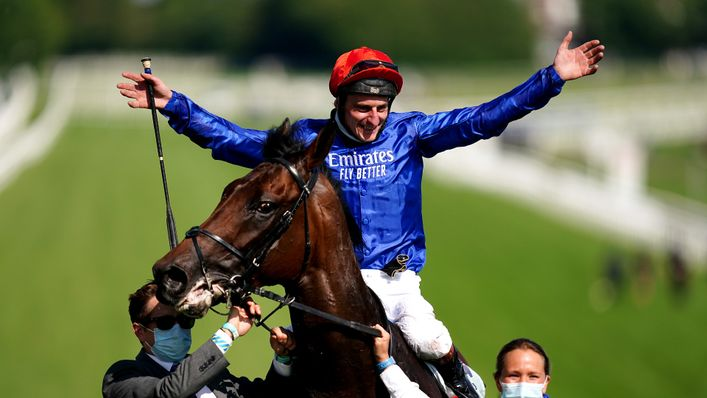 William Buick enjoyed a fine day at Ascot