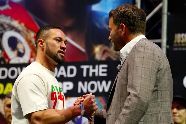 Joseph Parker is happy with the path Eddie Hearn is plotting