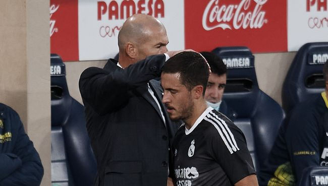Zinedine Zidane hasn't been able to get the best out of Hazard