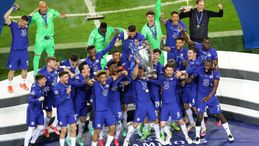 Holders Chelsea will find out their Champions League group today