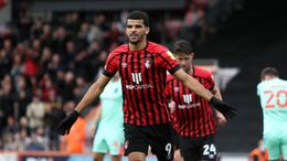 Dominic Solanke is flying high for Bournemouth in the Championship