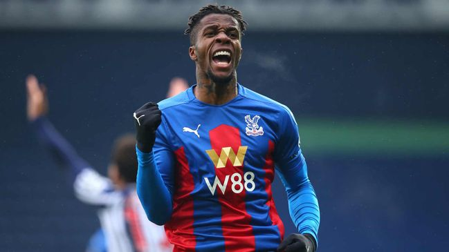 Both Tottenham and Everton are being linked Crystal Palace star Wilfried Zaha