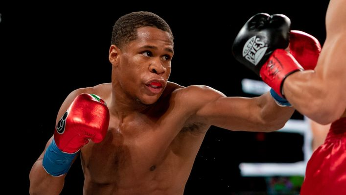 Devin Haney has yet to lose a pro bout