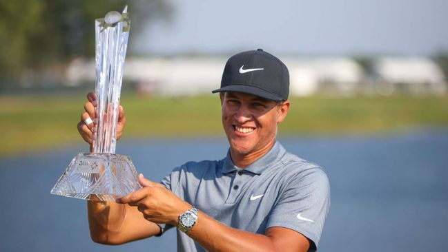 Cameron Champ defied the form book when winning the 3M Open