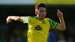 Billy Gilmour is spending the season on loan at Norwich