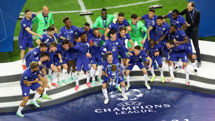 Chelsea got their hands on the Champions League trophy in 2020-21