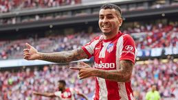 Angel Correa has netted in both of Atletico Madrid's wins so far this season