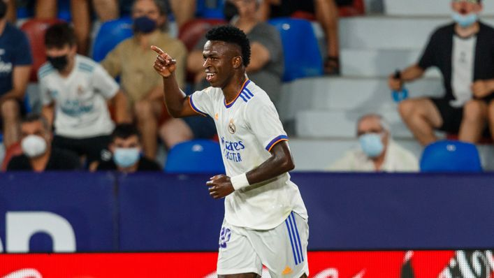 Vinicius Junior has been in hot form to start the 2021-22 campaign