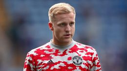 Donny van de Beek will be desperate to get out of Manchester United and play first-team football