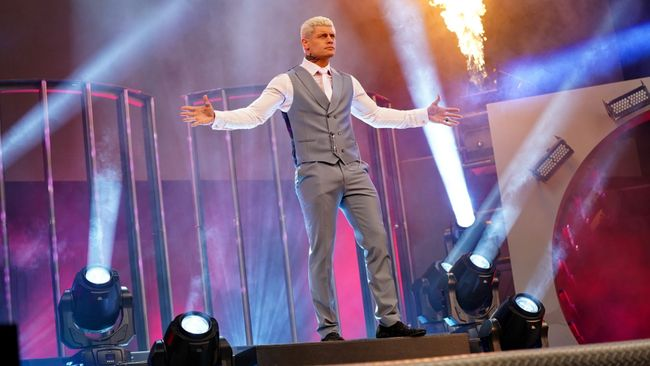 Cody Rhodes is the son of wrestling legend Dusty Rhodes (Pic: AEW)