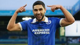 Neal Maupay was Brighton's top scorer last season but his place could be under threat if the Seagulls sign a striker