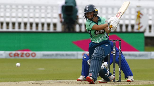 Alice Capsey smashed 59 at Lord's at the age of 16 for Oval Invincibles