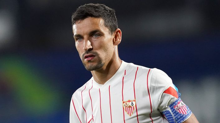 Experienced campaigner Jesus Navas will captain Sevilla once again in 2021-22