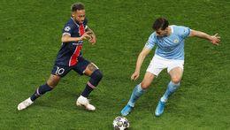 Paris Saint-Germain face Manchester City in a repeat of last season's semi-final