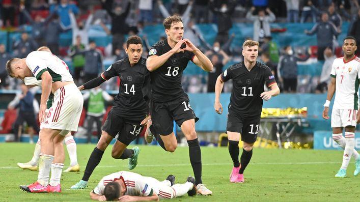 Leon Goretzka's equaliser against Hungary booked Germany's spot in the last 16