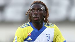 Moise Kean looks set to lead the line for Juventus, when they take on a Chelsea side who are remarkably tough to score against
