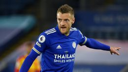 Jamie Vardy will be on the hunt for more goals this season as he leads Leicester's line once again