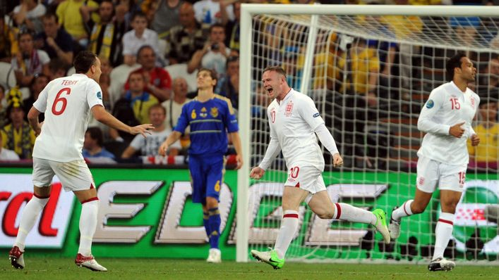 Wayne Rooney marks his return to the England team by scoring the decisive goal