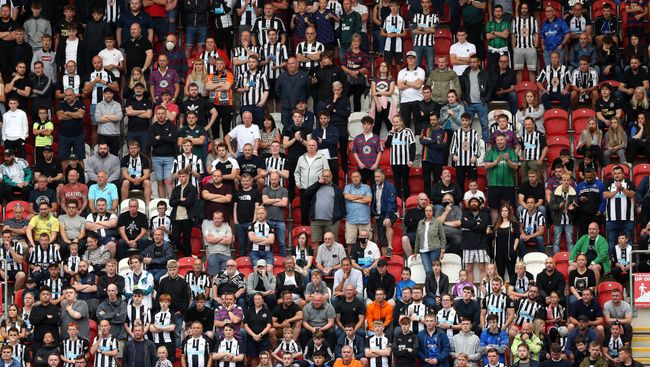 Newcastle fans continue to voice their displeasure at Steve Bruce's reign