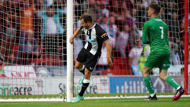 Ryan Fraser takes out his frustration in a pre-season friendly