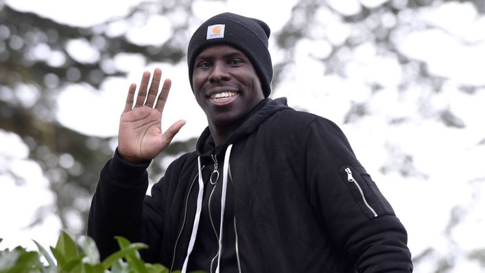 Kurt Zouma a completed £29.8million move from Chelsea to West Ham