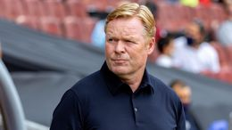 Under-fire Barcelona boss Ronald Koeman faces the tough task of a trip to Atletico Madrid on Saturday evening